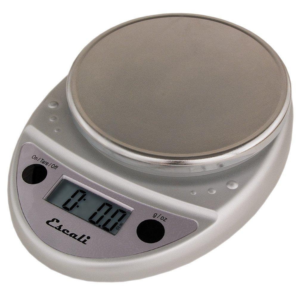 Escali Primo Digital Multifunctional Scale P115-CH Chrome