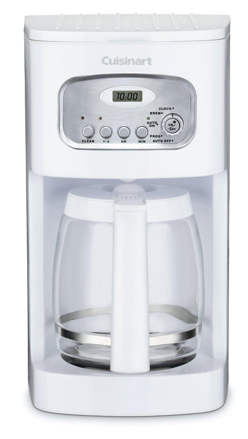 Cuisinart DCC-1100-WH 12-Cup Programmable Coffeemaker