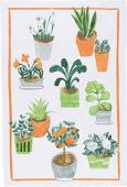 Now Designs Dishtowel - Potted Plants 2177198