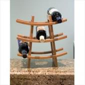 Lipper Bamboo Wine Rack 8306