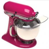 KitchenAid KSM150PSCB Artisan Series 5-Quart Mixer, Cranberry