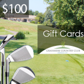 Grassmere $100 Gift Card