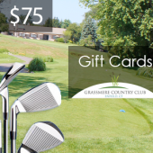 Grassmere $75 Gift Card