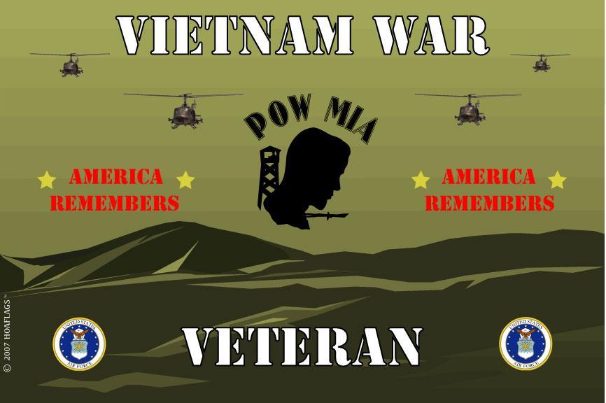 United States Air Force Flag-Vietnam War