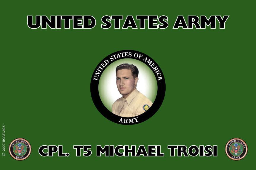 U.S Army Personalized Photo Flag