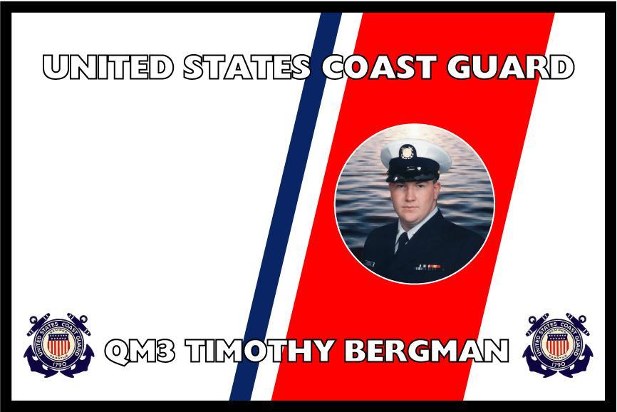 United States Coast Guard Personalized Photo Flag