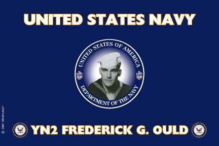 United States Navy Personalized Photo Flag
