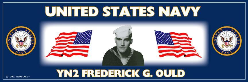 U.S. Navy Personalized Photo Bumper Sticker