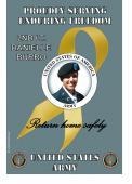 Army Enduring Freedom Flag- Yellow Ribbon