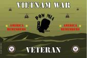United States Navy Emblem Flag- Vietnam War