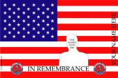 Remembrance Flag Design- U.S. National Guard