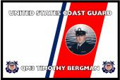 United States Coast Guard Personalized Photo Flag