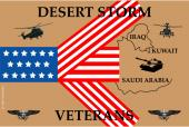 Desert Storm Remember Our Veterans Sticker