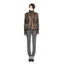 SABLE JACKET TORTORA WITH BROADTAIL
