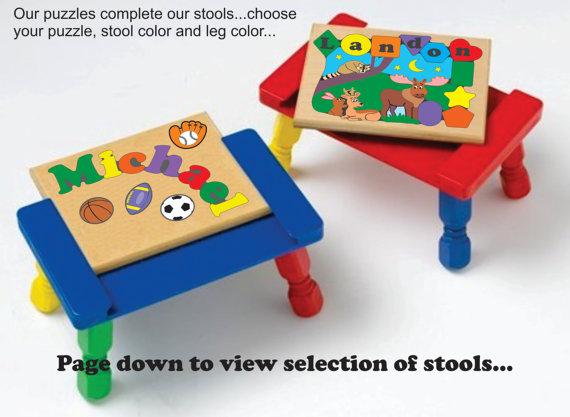 Stool Puzzles
