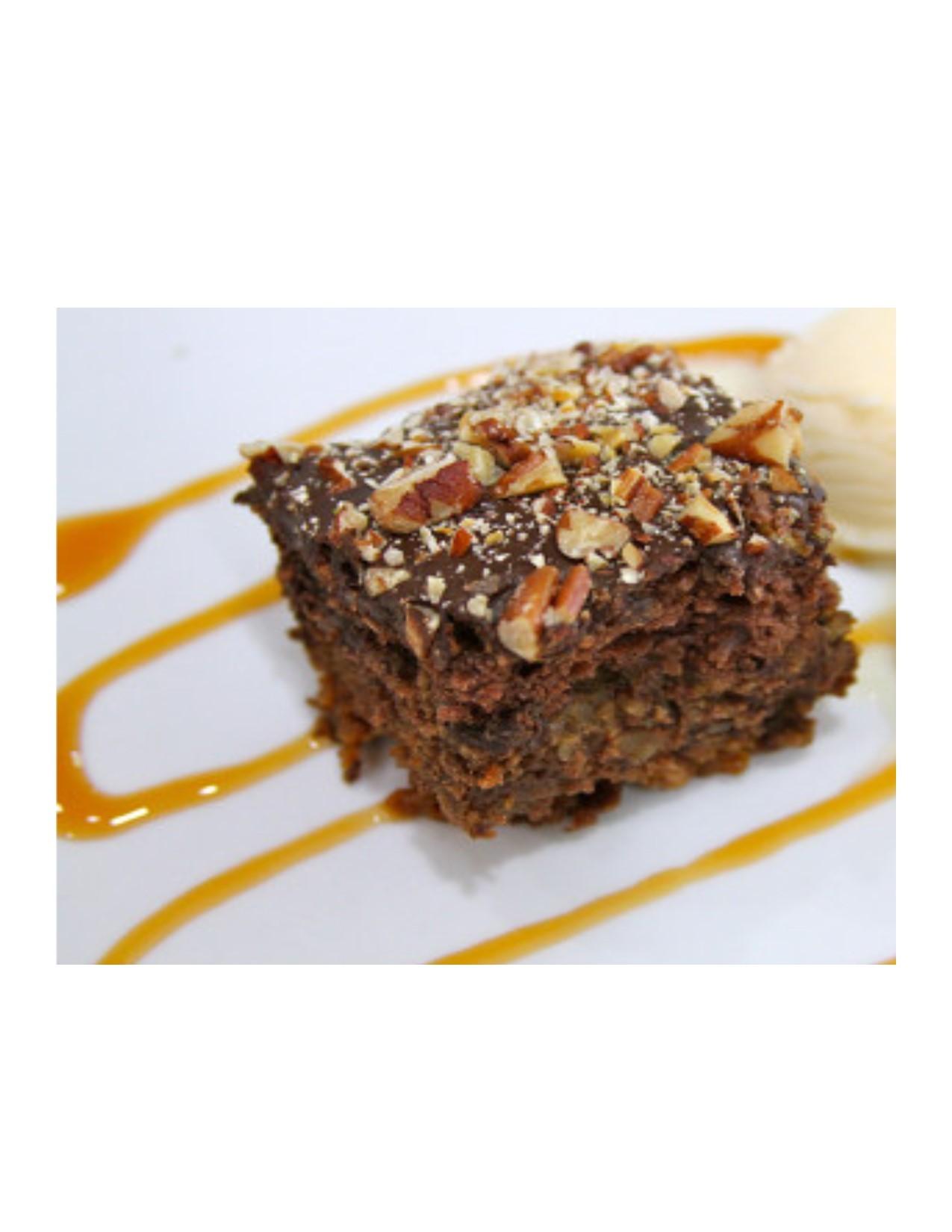 Honey Bun Chocolate Turtle Cake-Large