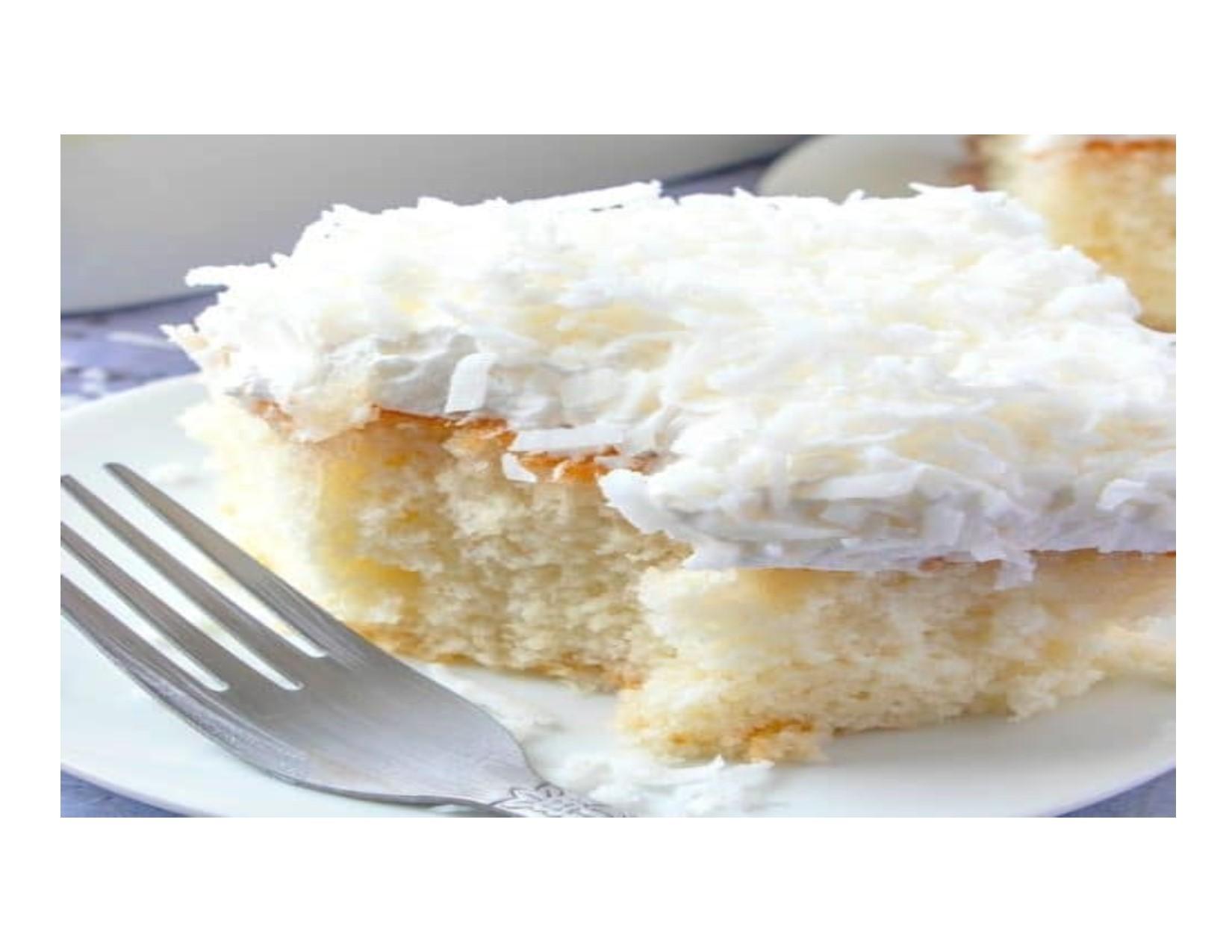 Honey Bun Coconut Cake-Large