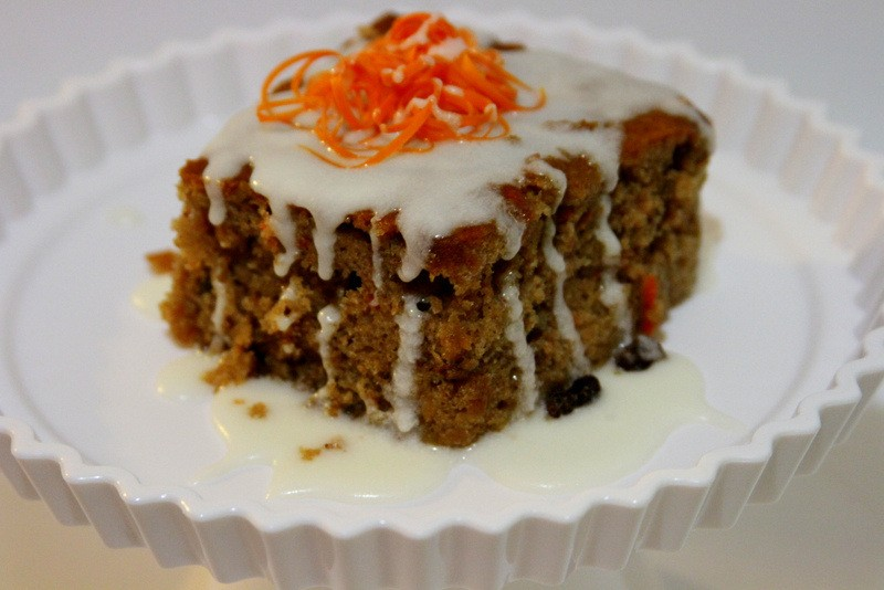 Honey Bun Carrot Cake