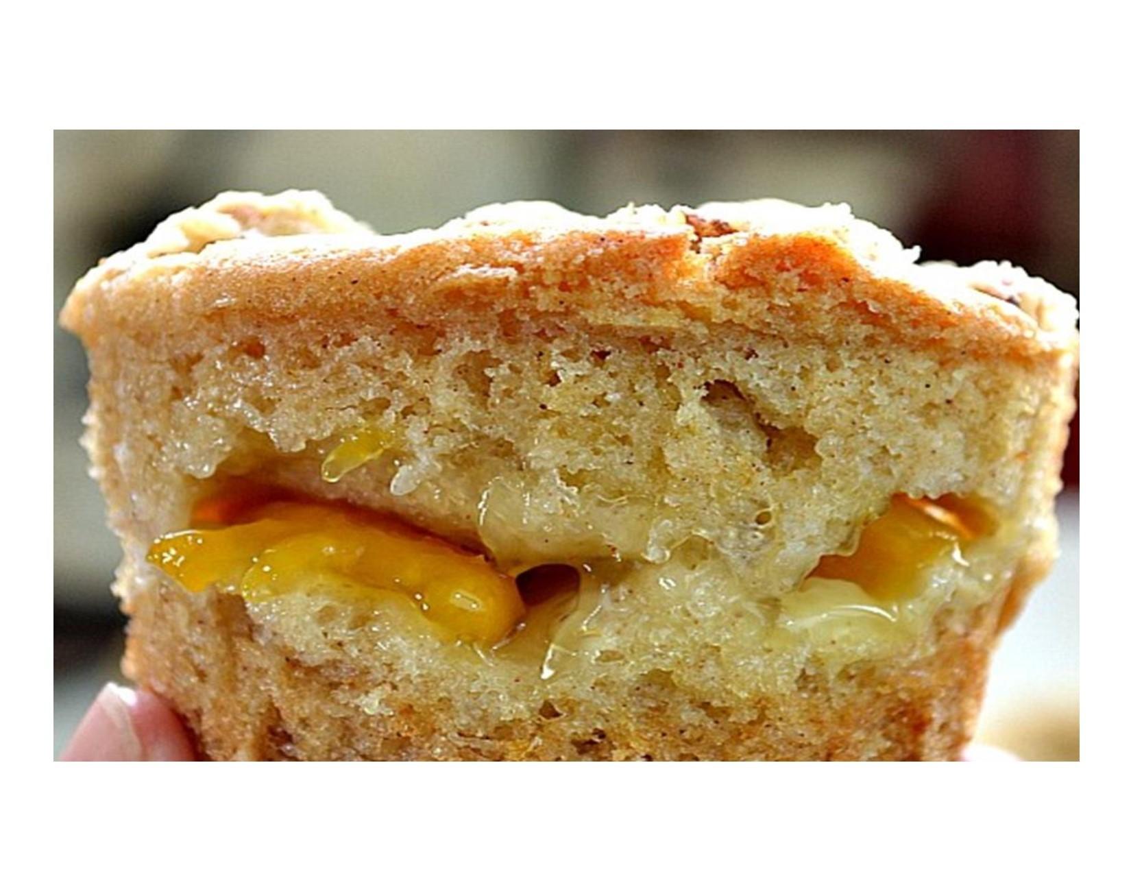 Honey Bun Peach Cake-LARGE