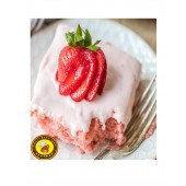 Honey Bun Strawberry Henny Cake - Large
