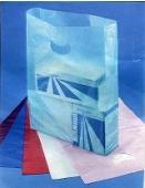 Merchandise Bags Die Cut Handle Hi-Dens/500/10+ C