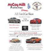 McCoy Mills Ford Car Show