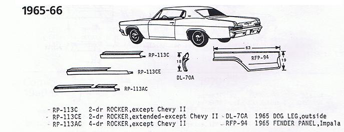 Chevrolet 1965-66