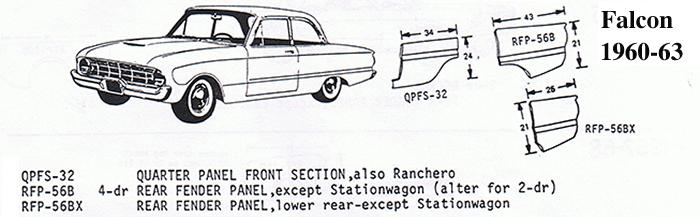 Ford Falcon 60-63