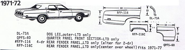 Ford 1971-72