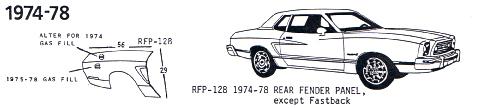 Mustang 1974-78