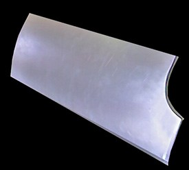 55-7 Front Fender Bottom Rear