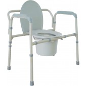 Drive Bariatric Bedside Commode #11117N-2