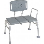 Drive HD Bariatric Plastic Seat Transfer Bench #12025KD-2