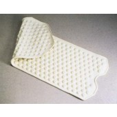 "B3416C Essential Safety Bath Mat - 16"" x 41 1/4""  - Cream"