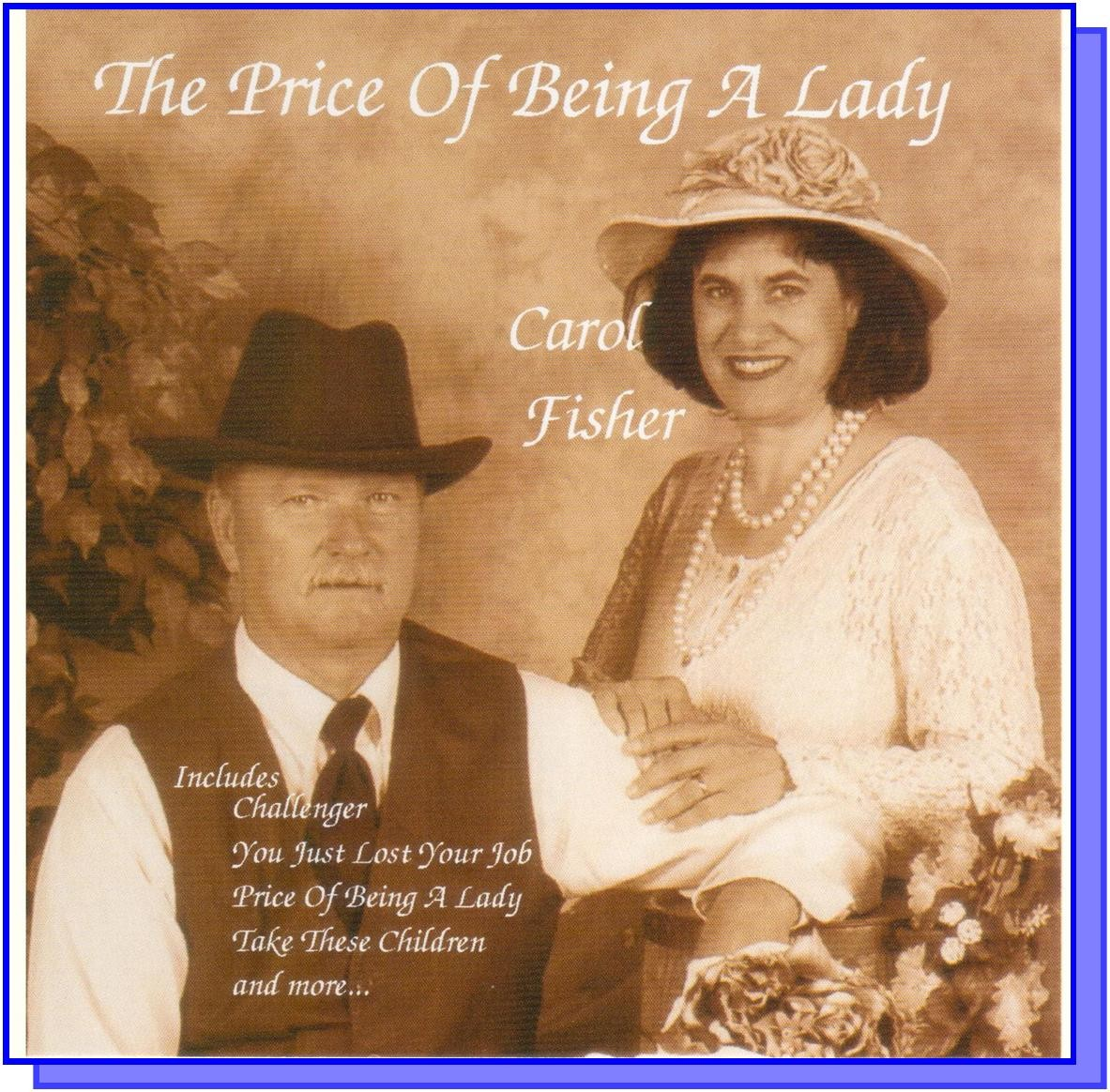The Price of Being a Lady CD