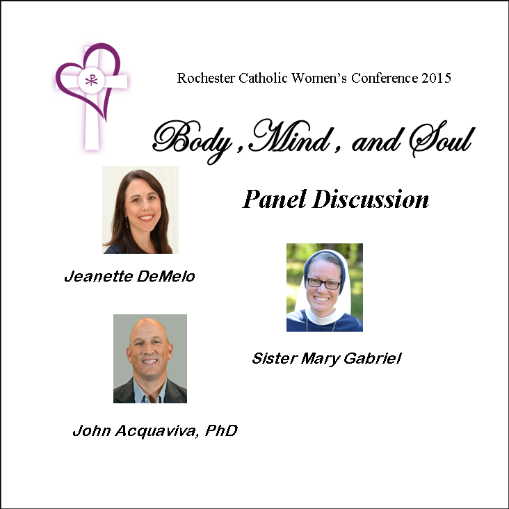 Panel Discussion Rochester Catholic Women's Conference 2015