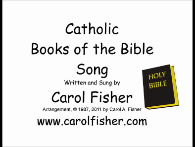 Catholic Books of the Bible Song