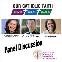Panel Discussion Syracuse Catholic Women's Conference 2014