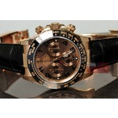 Rolex 18k Rose Ceramic Gold Daytona ref. 116515