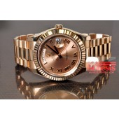 Rolex Presidential Day Date 2 18k Rose Gold 41mm model 218235
