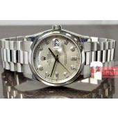 Rolex Day Date Platinum President Model #118206