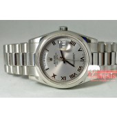 Rolex Platinum President Day Date model 118206