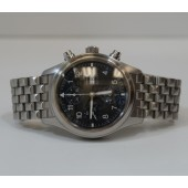 IWC, Fliegerchronograph - Steel Band Model 3706 - Collectable