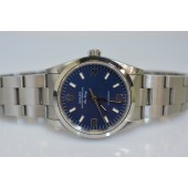 Rolex Air King 14000 W serial Blue dia