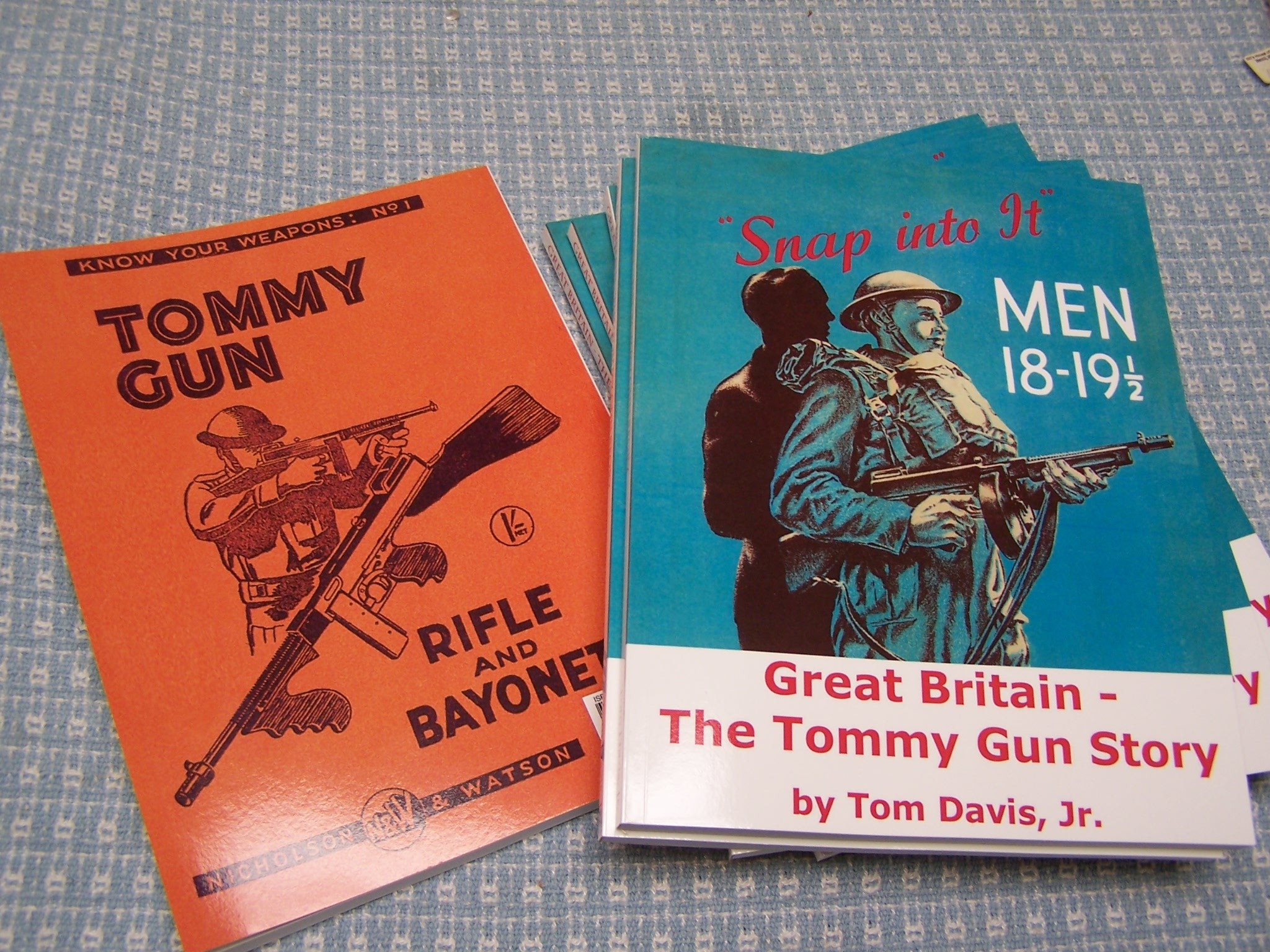 GREAT BRITAIN-THE TOMMY GUN STORY BY TOM DAVIS, JR.