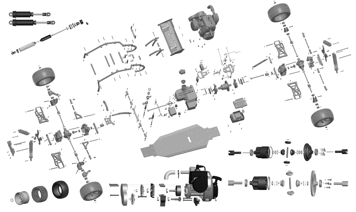 057900/057900C/057901/057902 Spare Parts
