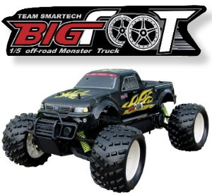 053220 Big Foot 2WD Monster Truck(2.4G Digital Pistol Radio)