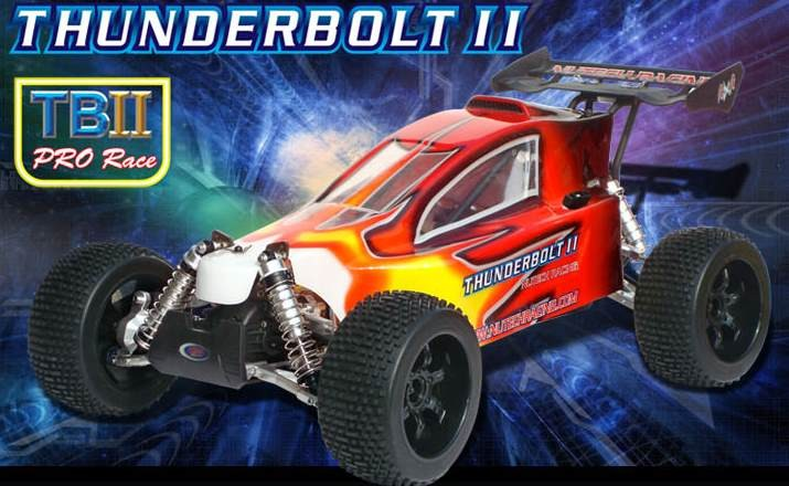 057950 THUNDERBOLT II PRO RACE 1/5 4WD Off-Road Gas Power Buggy