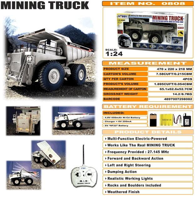 JHC0808 - Mining Truck