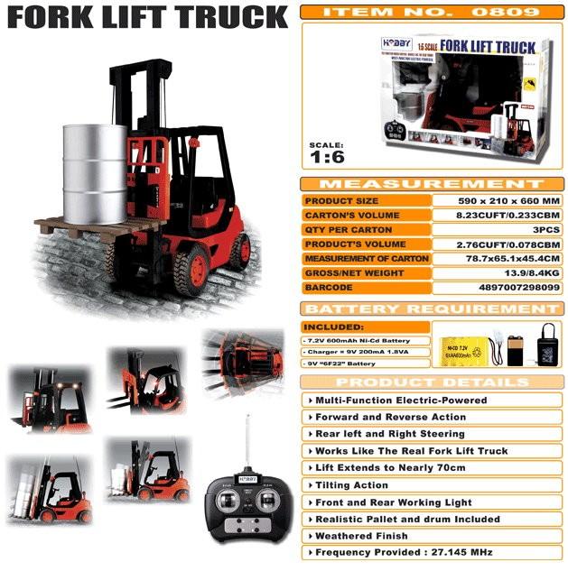 JHC0809 - Fork Lift Truck